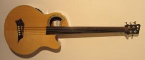 Warwick Alien Delux 5-string fretless ABG (2012)
